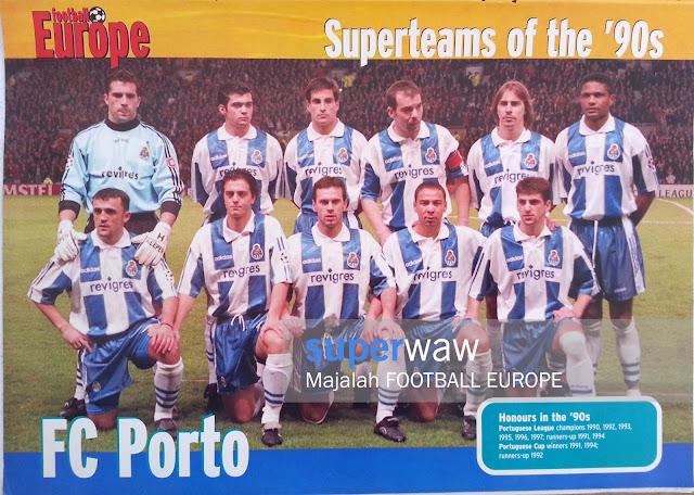 Poster Pin up Tim FC Porto 1996