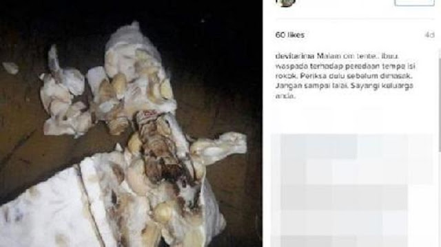Gegerkan Netizen : Tempe Isi Rokok