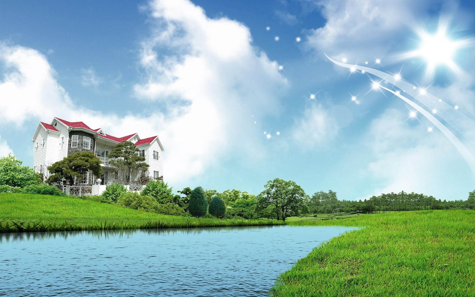 3D Houses Wallpapers ~ Top Best HD Wallpapers for Desktop