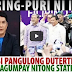 IN VIDEO! PANGULONG DUTERTE, PURING PURI ni ERWIN TULFO sa TAGUMPAY ng STATE VISITS sa MIDDLE EAST