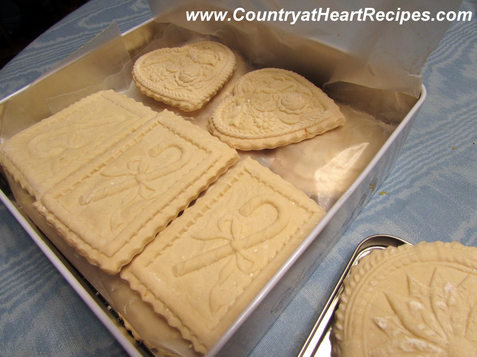 Country At Heart Recipes Springerle Cookies