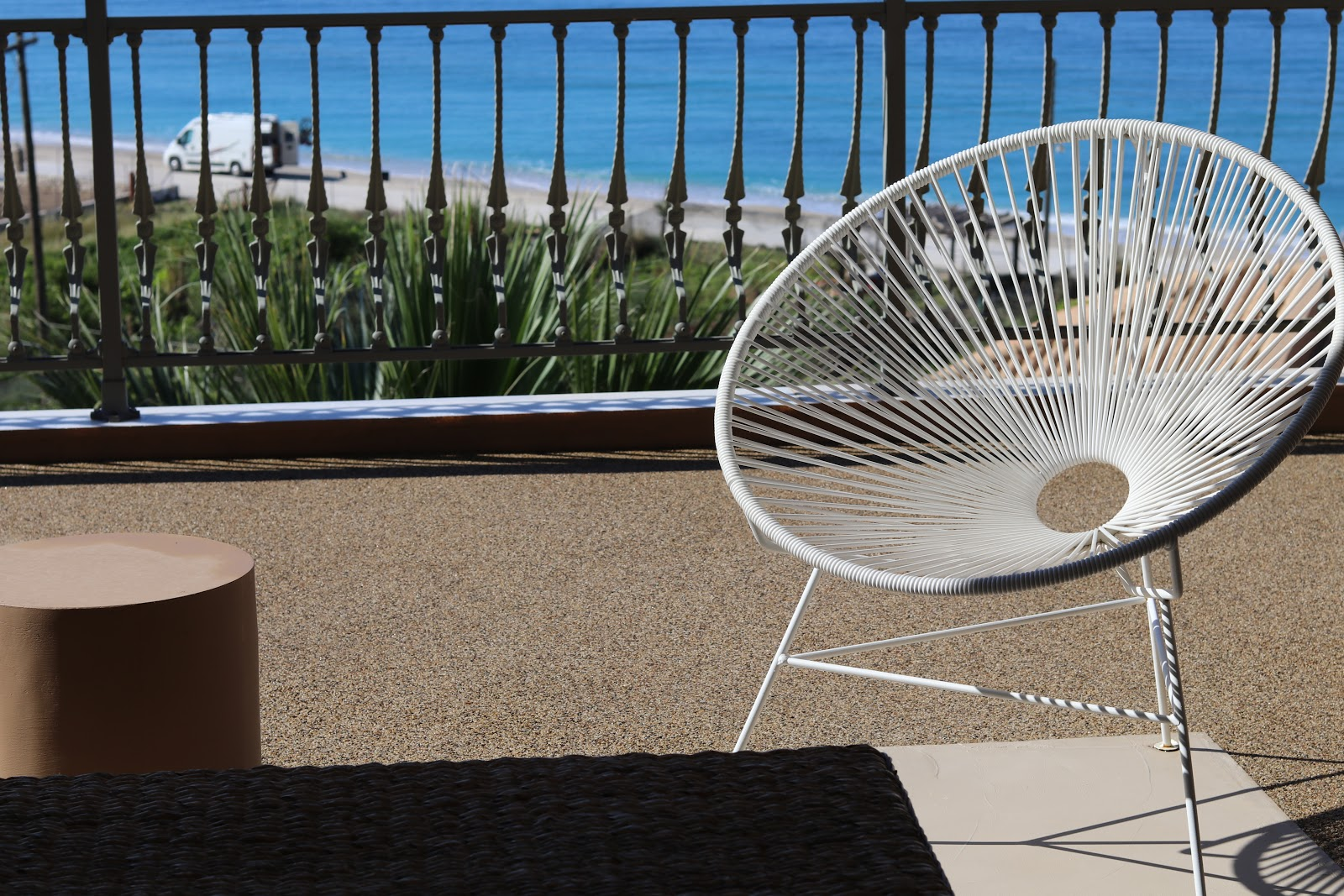 Outdoor chair, F Zeen Resort, Unique Villas, Kefalonia