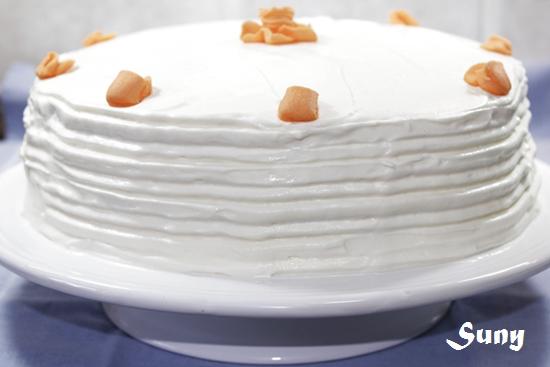 Tarta especiada de calabaza con cobertura de queso - Spiced Pumpkin Layer Cake