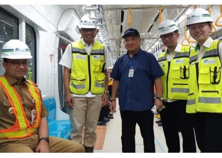 Dipuji Karena Resmikan MRT, Ini Jawaban Membanggakan Anies Baswedan