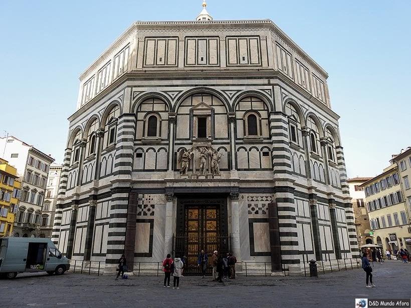 Batistério de São João - O que fazer em Florença, Itália - 40 atrativos