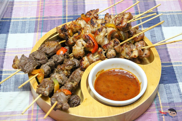 Home-cooked Beef and Chicken Yakitori