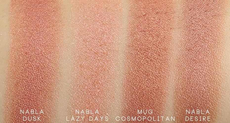 Nabla Goldust Crème Shadow Dusk swatch