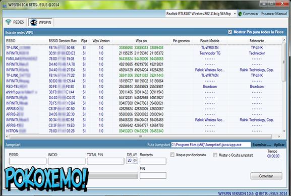 Descarga WPSPIN Para Windows 7/8/10 [ Hackear Redes Wifi WPA