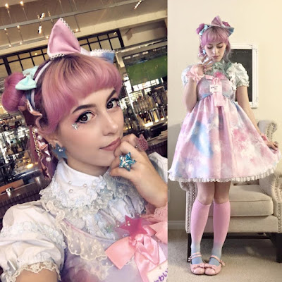 Mintyfrills fashion valentine kawaii sweet lolita fashion space princess