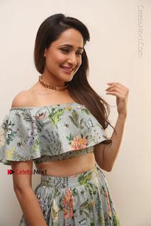 Actress Pragya Jaiswal Stills in Floral Dress at turodu Interview  0087.JPG