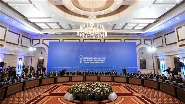 Syria talks officially kick off in Astana
