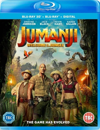 Jumanji Welcome to the Jungle 2017 English 720p BRRip 1.1GB ESubs