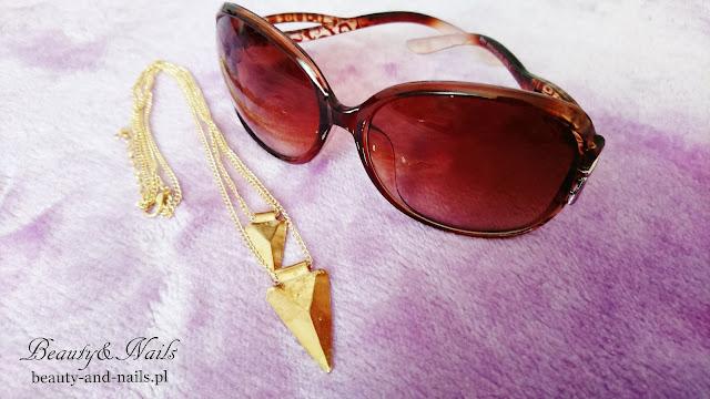 SAMMYDRESS - okulary i łańcuszek.