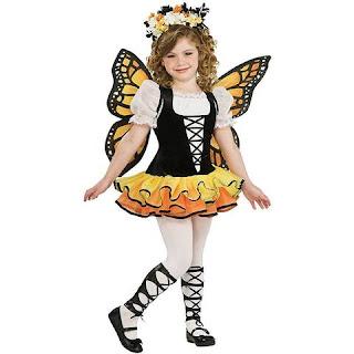costum de carnaval - fluturaș