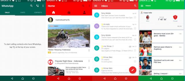 Cara Oprek Navibar Pada System Ui Di Ponsel Android Menjadi Warna Warni