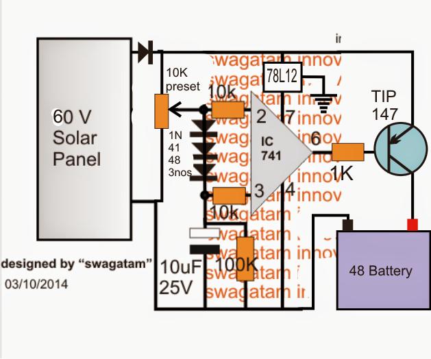 Homemade Solar MPPT Circuit  Poor Man's Maximum Power Point Tracker Circuit