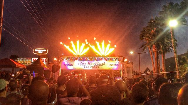 Rock'n'Roll Las Vegas Half Marathon Start Line