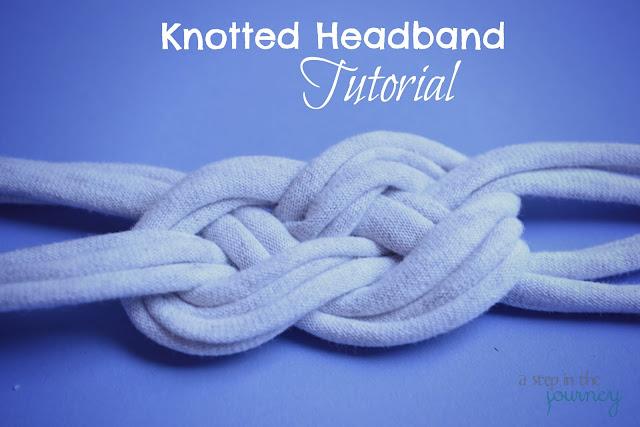 DIY T-Shirt Knotted Headband Tutorial