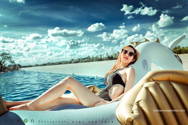 Beautiful Vietnamese girl bikini vol 77 13