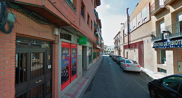 Calle donde se ubica el local en el que se produjeron los hechos