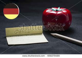 Estudando alemão com a técnica Pomodoro