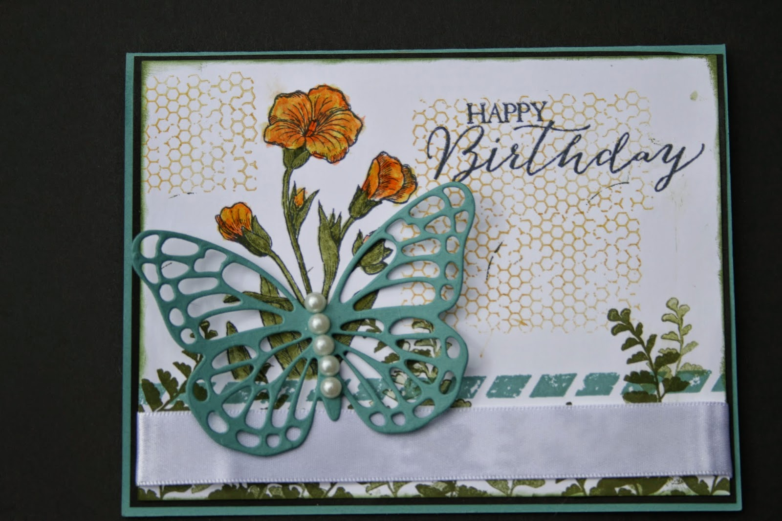 Happy Birthday card with Butterfly