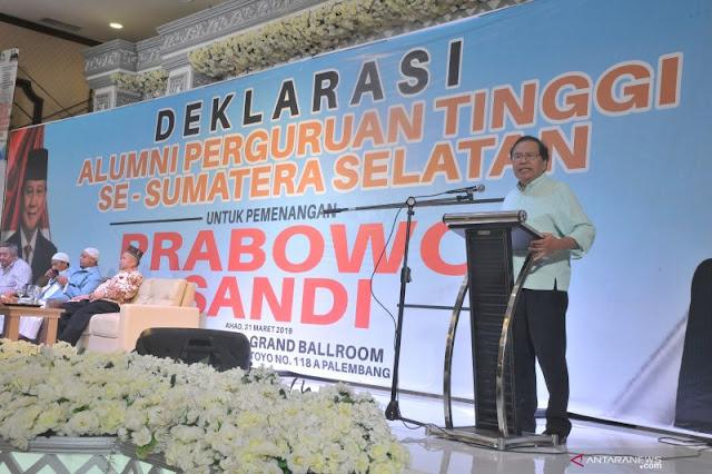 Era Jokowi, Rizal Ramli Sebut Perekonomian Indonesia Tambah Nyungsep