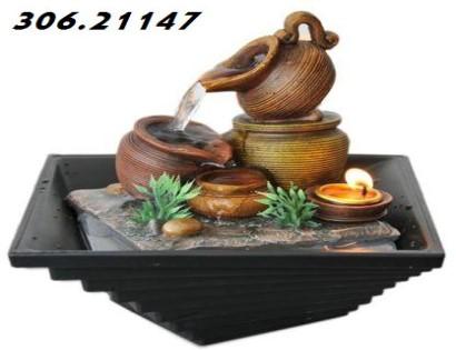 Disenyoss decoracion fuentes feng shui para mover energias y atraer la prosperidad - Fuentes agua interior ...