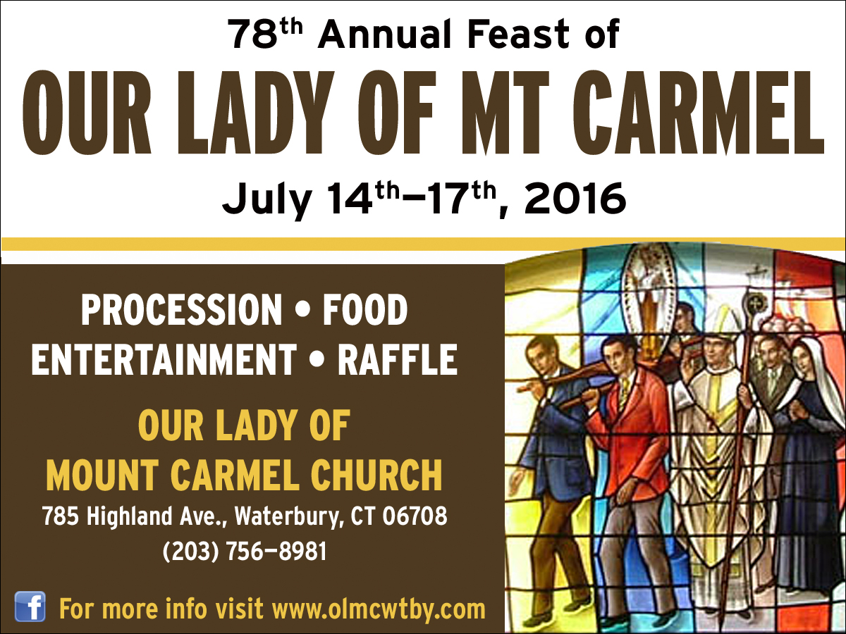 Feast Of Our Lady Of Mount Carmel Quotes: Il Regno: Announcing The 78th Annual Feast Of Our Lady Of