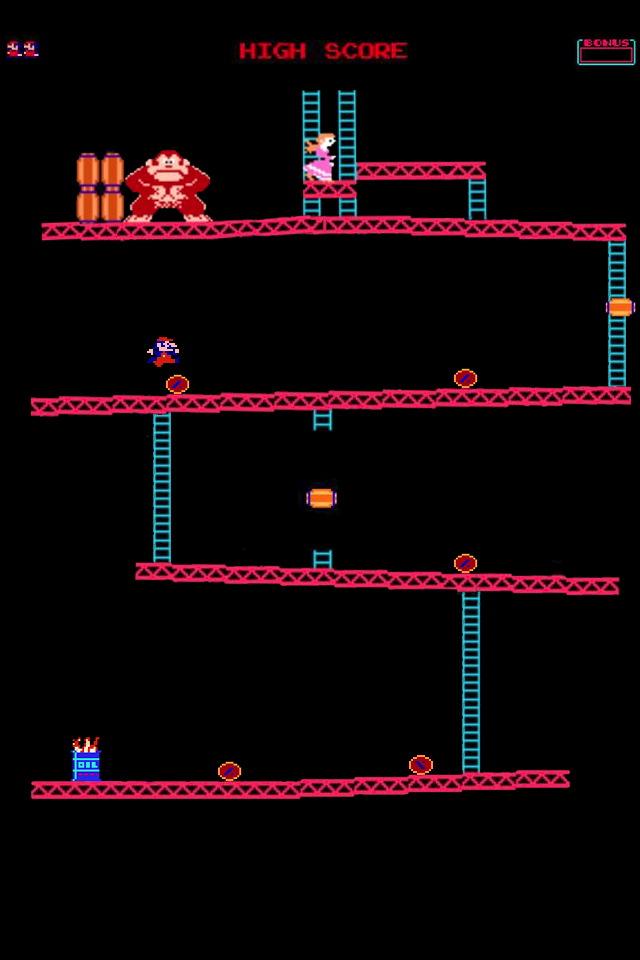 Donkey Kong - iPhone 4 Wallpaper - Pocket Walls :: HD iPhone Wallpapers