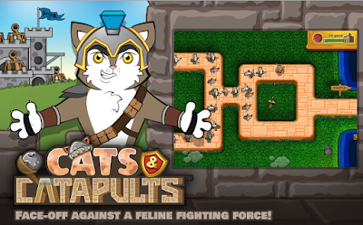 Game Cats and Catapults - Perang Kucing Istana
