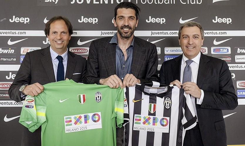 La Expo de Milan invade la camiseta de la Juventus