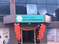 Antalya Kemer Halk Eğitim Merkezi Hem Kurs