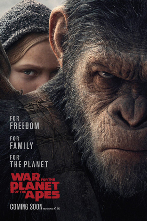Jadwal WAR FOR THE PLANET OF THE APES di Bioskop