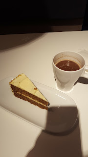 Ikea Carrot Cake and Hot Chocolate