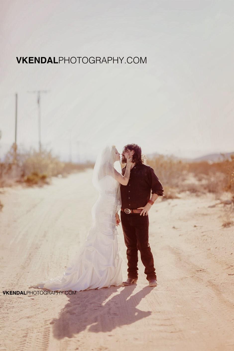 V Kendal Photography Shooter Waylon Jennings  Misty Swain Brooke  Desert Wedding  Joshua