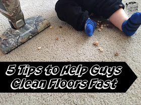 5 Steps to Help Guys Clean Floors Fast
