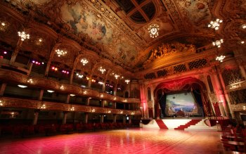 Wallpaper: Blackpool Tower Ballroom