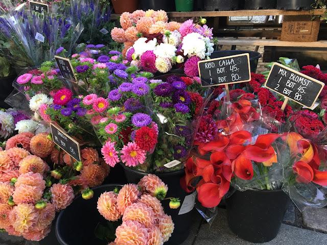flowers, torvehallerne, copenhagen
