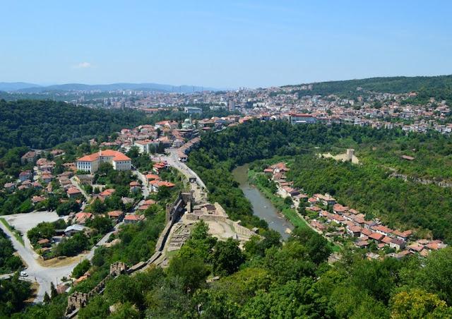 Veliko Tarnovo desde la fortaleza de Tsarevets BUlgaria