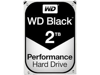 WD 2 TB HDD