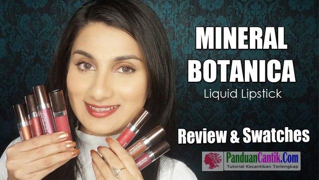 Mineral Botanica Studio Series Ultra Pigment Matte Liquid Lipstick - Video Daftar Merk Lipstik Warna Metalik Terbaik Yang Bagus Tahan Lama dan Murah Harganya