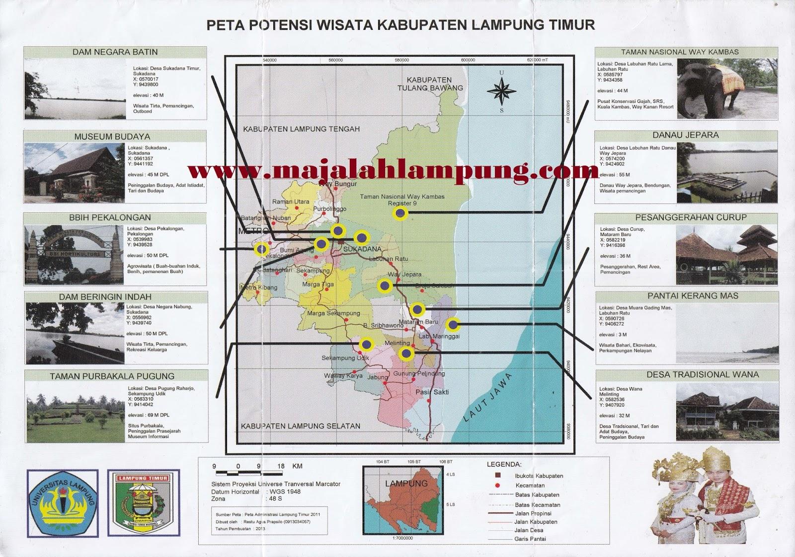23 Tempat Wisata Di Lampung Timur Yang Wajib Dikunjungi ...