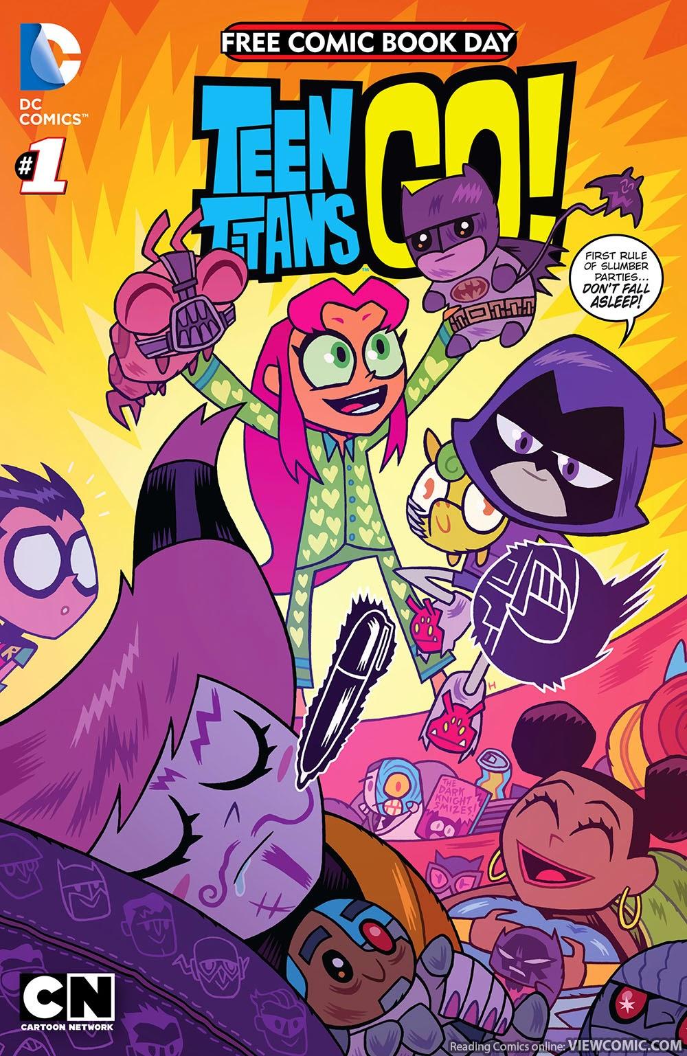 Free Read Sex Comic free comic book day 2015 – teen titans go!-scooby-doo team
