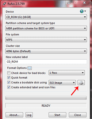 First, put Pen Drive in the USB port on your computer.