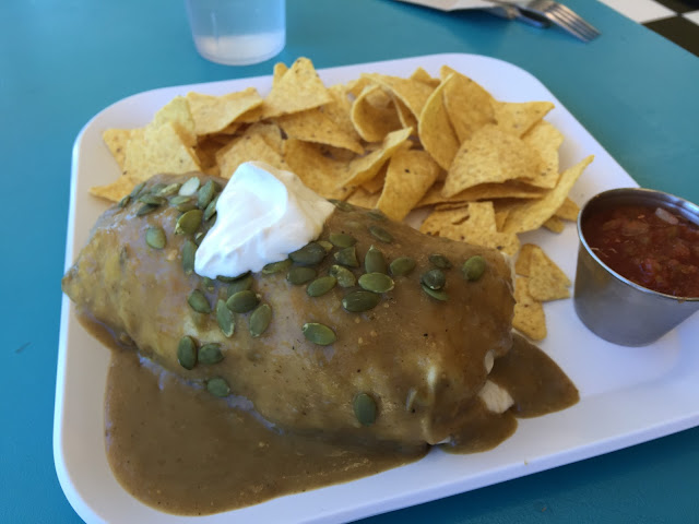 The Froh burrito at Frisch Compassionate Eatery in Salt Lake City