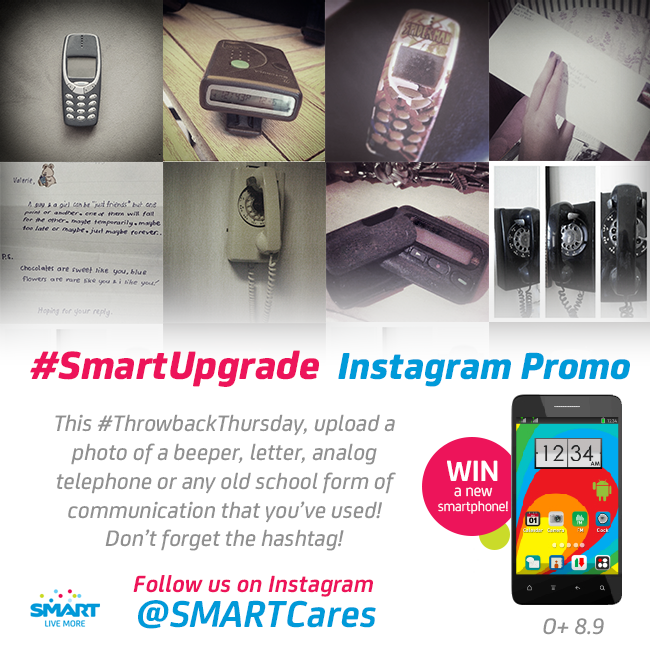 SmartUpgrade Instagram Promo to Win an O+ 8.9!