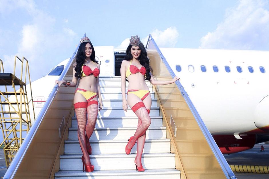 VietJet Air Dengan Pramugari Berbikini Akan Menjelajahi Langit Indonesia