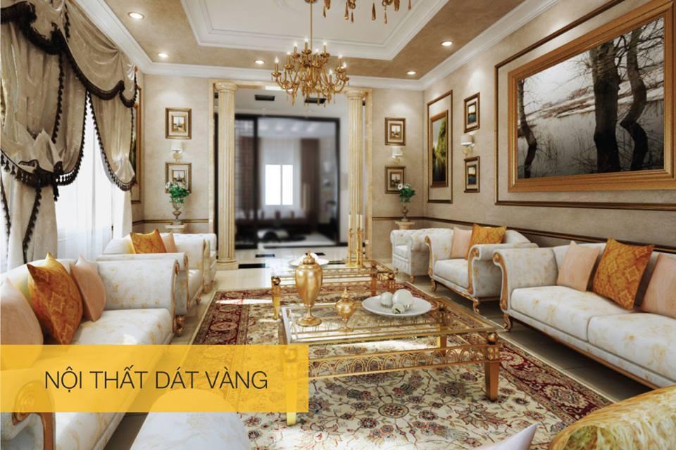 Một số hình ảnh về nội thất dát VÀNG tại Condotel Royal Park Bắc Ninh