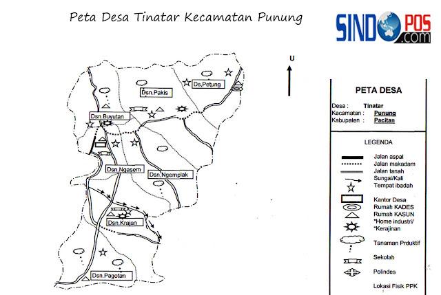 Desa Tinatar Kecamatan Punung Kabupaten Pacitan